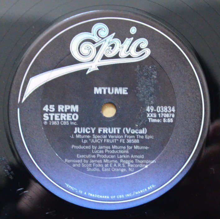 MTUME / JUICY FRUIT (12