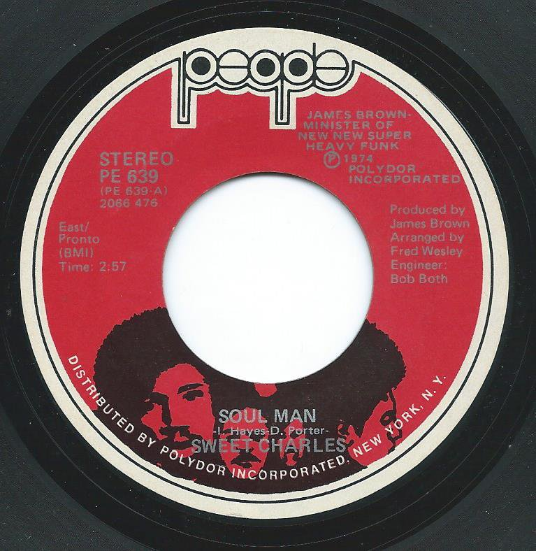 SWEET CHARLES / SOUL MAN / WHY CAN'T I BE TREATED LIKE A MAN (7