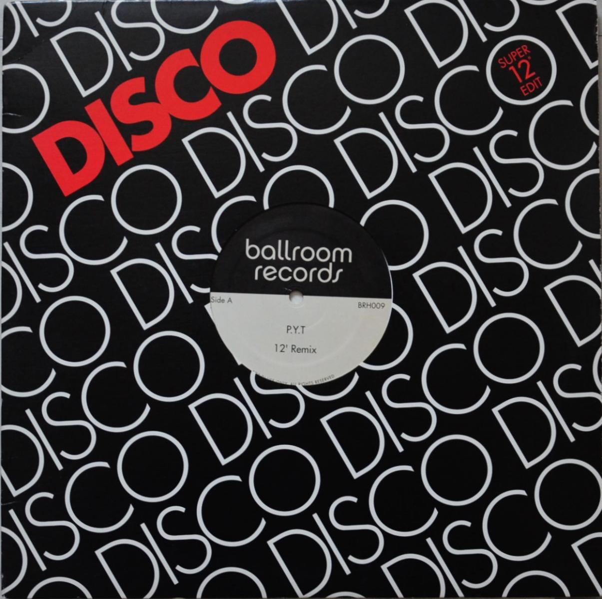 MICHAEL JACKSON / DRUMS POWER / P.Y.T / DANCE RITUAL (12