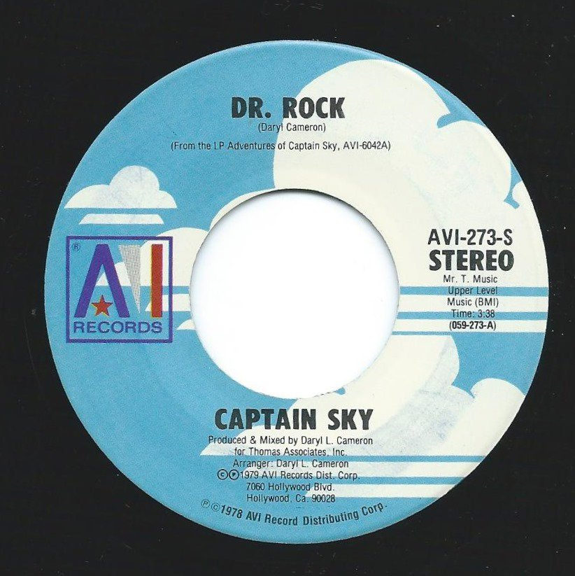 CAPTAIN SKY / DR. ROCK (7