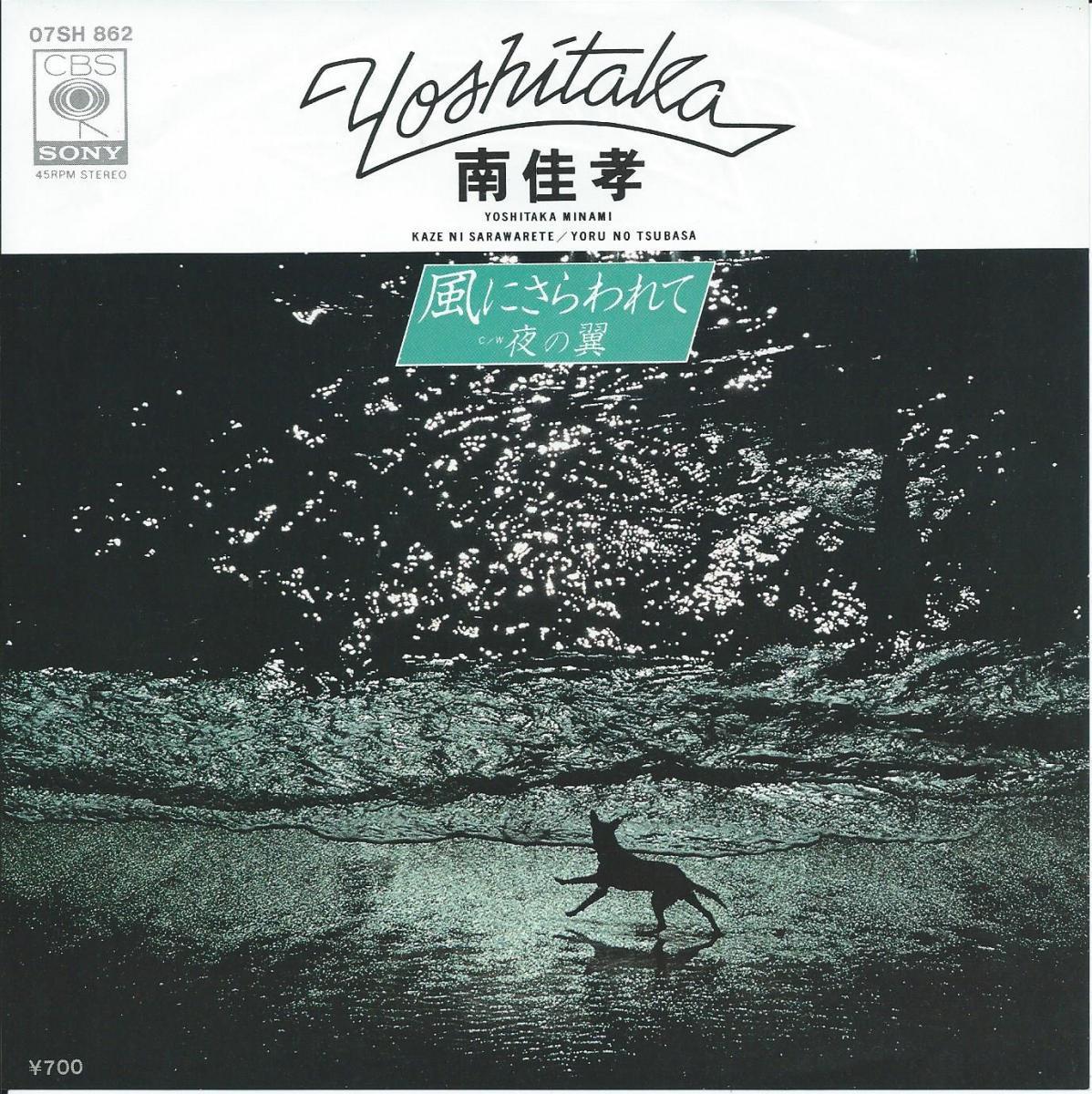 南佳孝 YOSHITAKA MINAMI / 風にさらわれて / 夜の翼 (7
