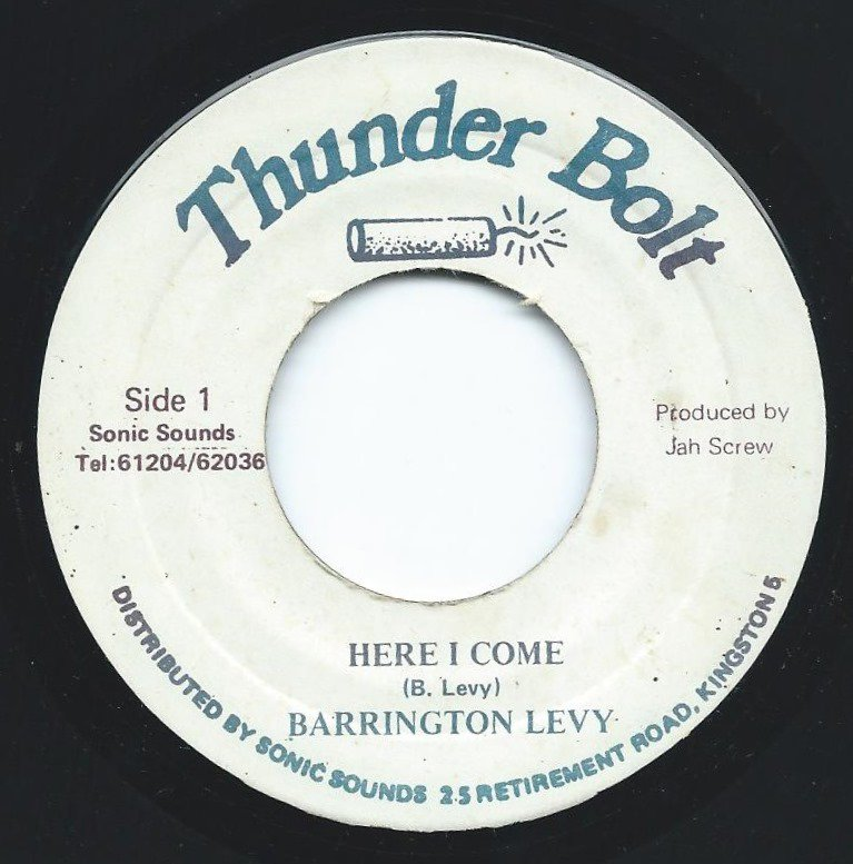BARRINGTON LEVY ‎/ HERE I COME (7