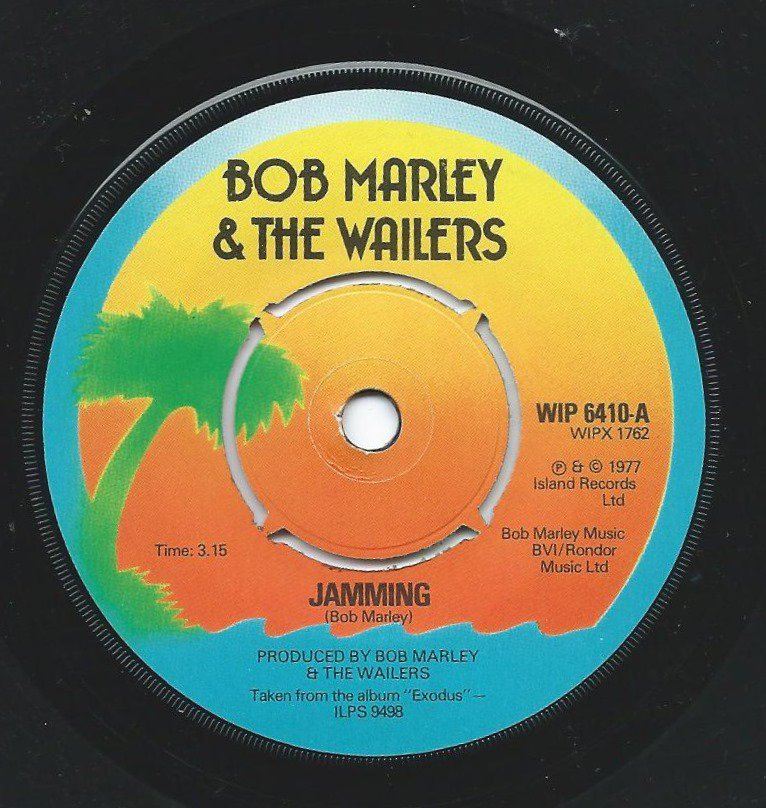 BOB MARLEY & THE WAILERS ‎/ JAMMING / PUNKY REGGAE PARTY (7