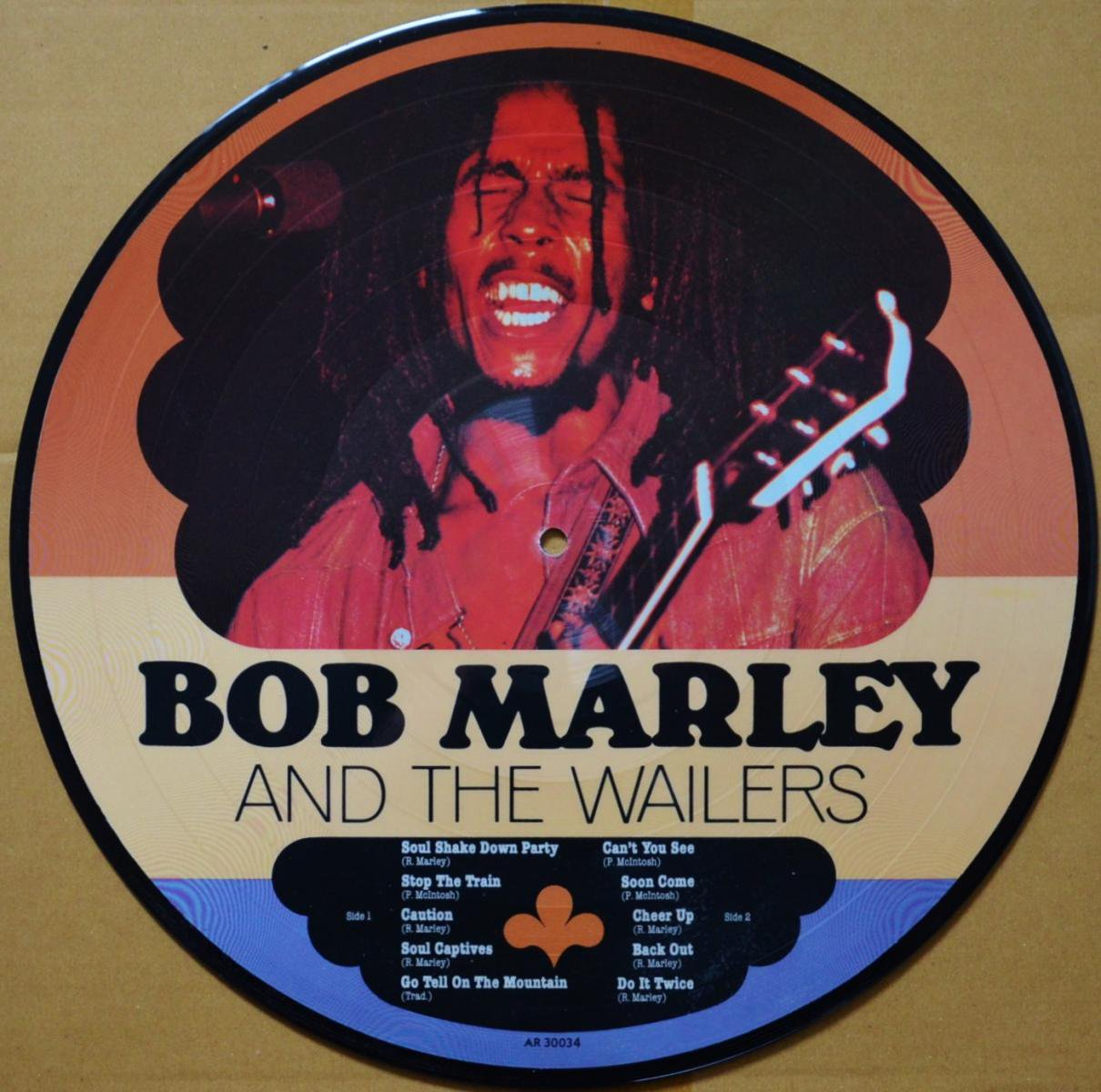 BOB MARLEY & THE WAILERS / BOB MARLEY AND THE WAILERS (LP)