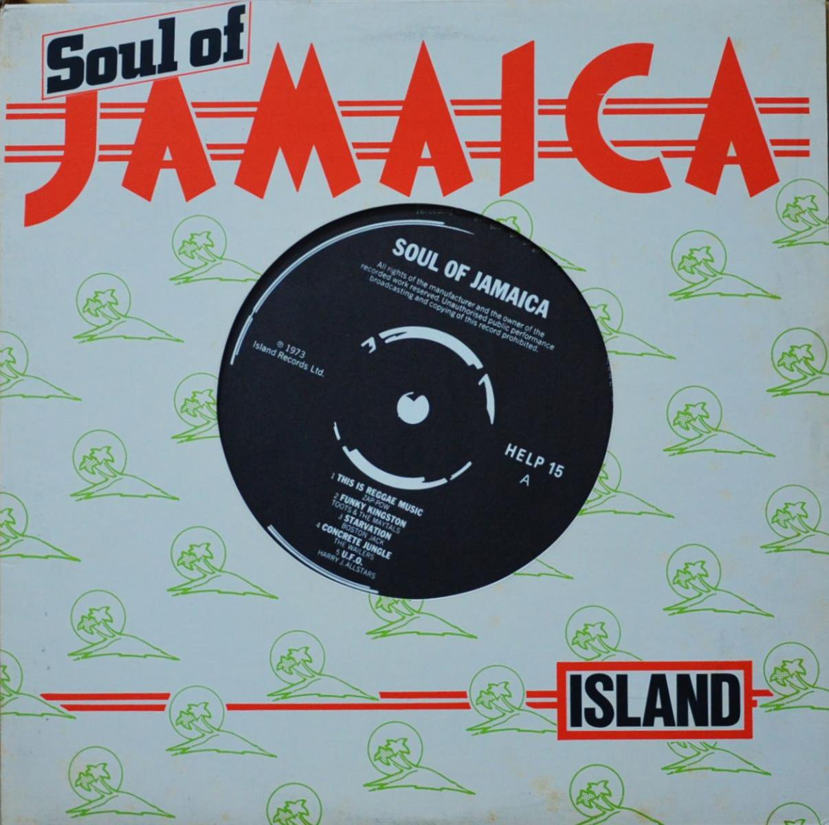 V.A.(ZAP-POW,TOOTS & THE MAYTALS...) / SOUL OF JAMAICA (LP)