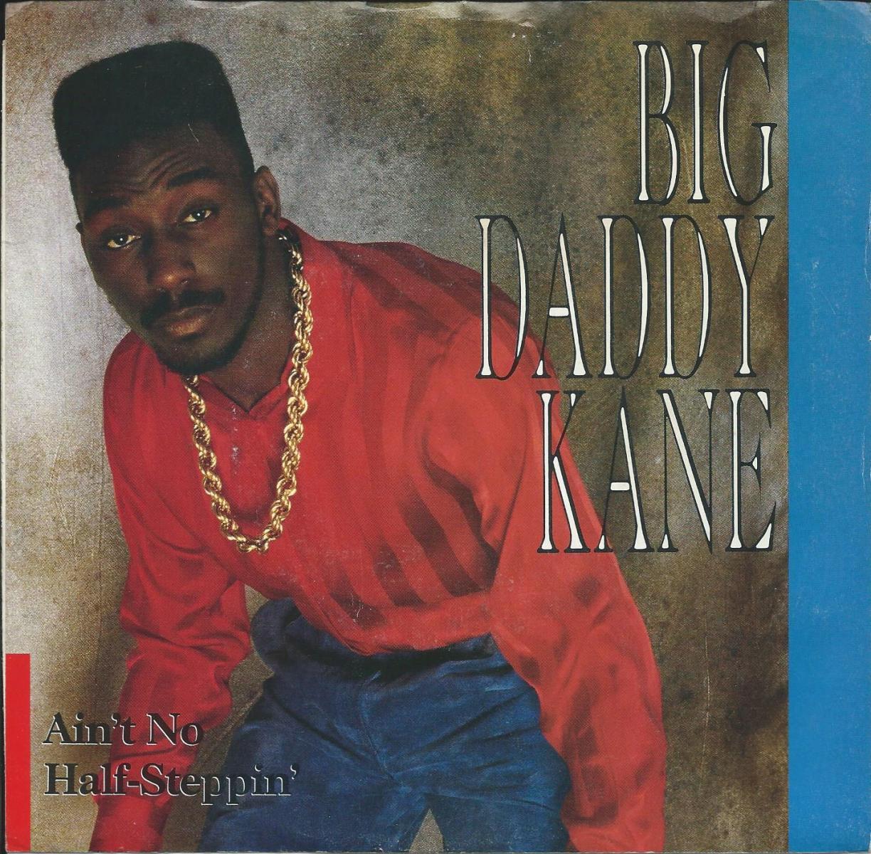 BIG DADDY KANE / AIN'T NO HALF-STEPPIN' / GET INTO IT (7