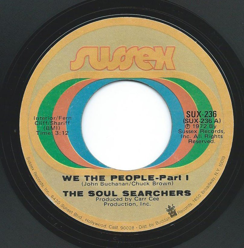 THE SOUL SEARCHERS / WE THE PEOPLE (7