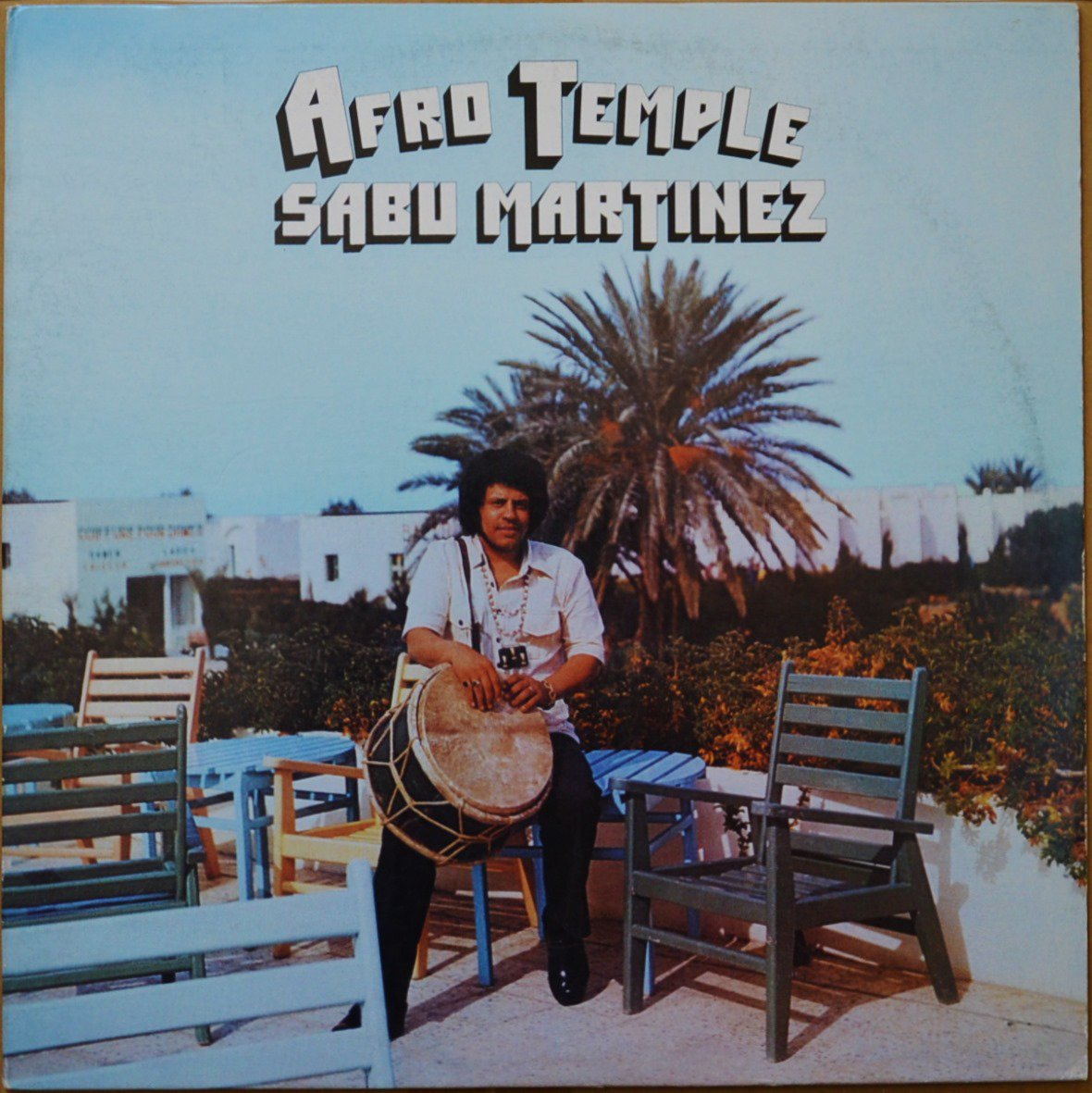 SABU MARTINEZ / AFRO TEMPLE (LP)