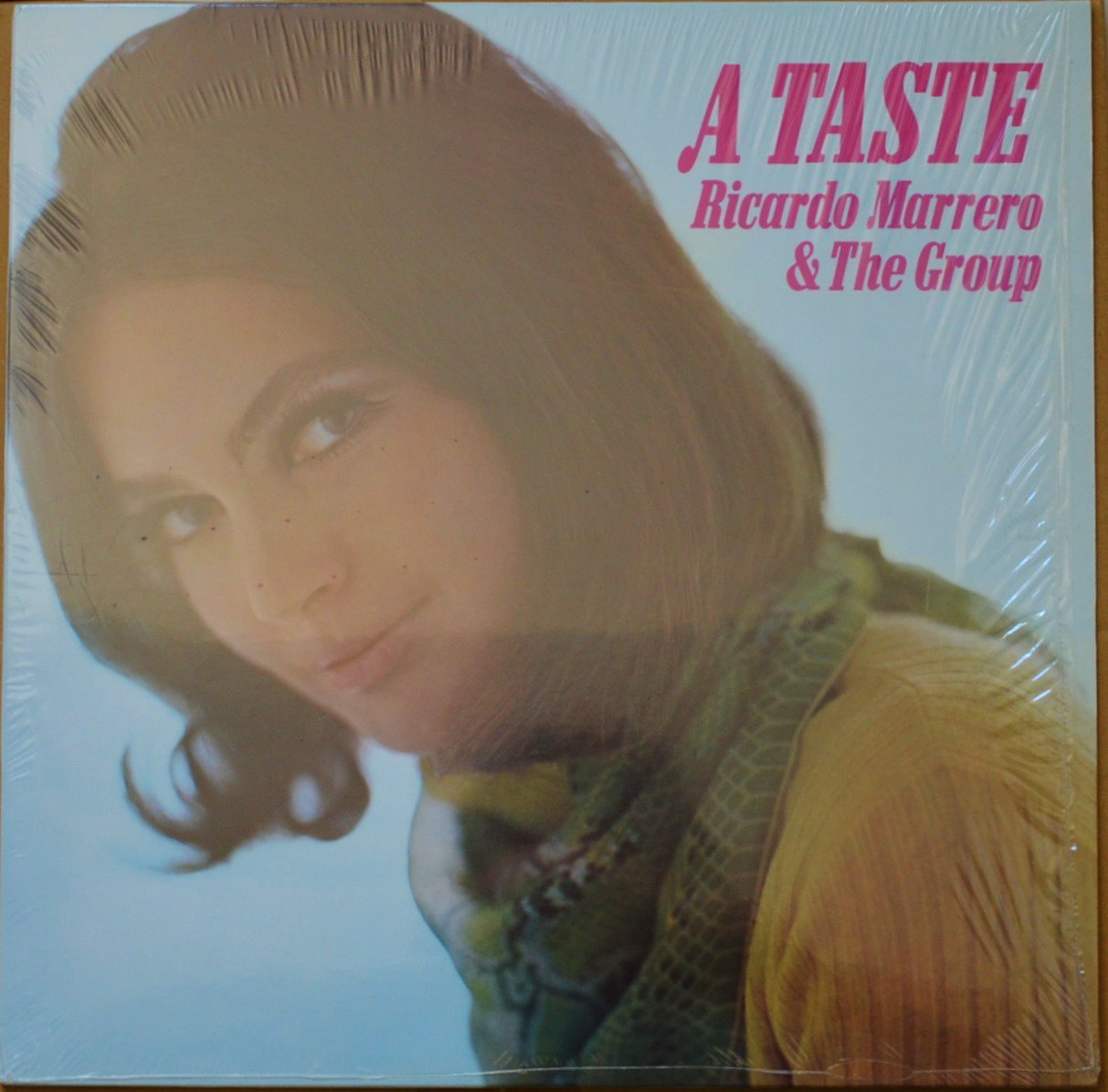 RICARDO MARRERO & THE GROUP ‎/ A TASTE (LP)