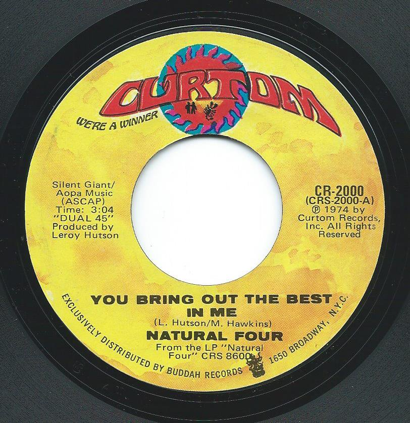 THE NATURAL FOUR / YOU BRING OUT THE BEST IN ME / YOU CAN'T KEEP RUNNING AWAY (7