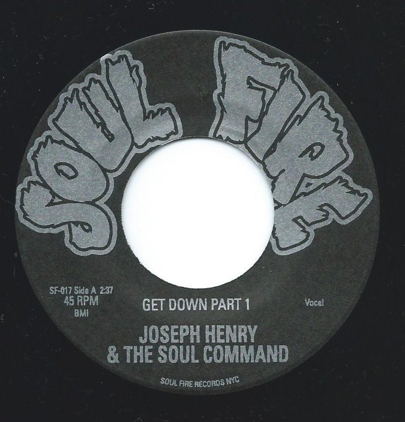 JOSEPH HENRY & THE SOUL COMMAND ‎/ GET DOWN PART 1 / MOON MISSION (7