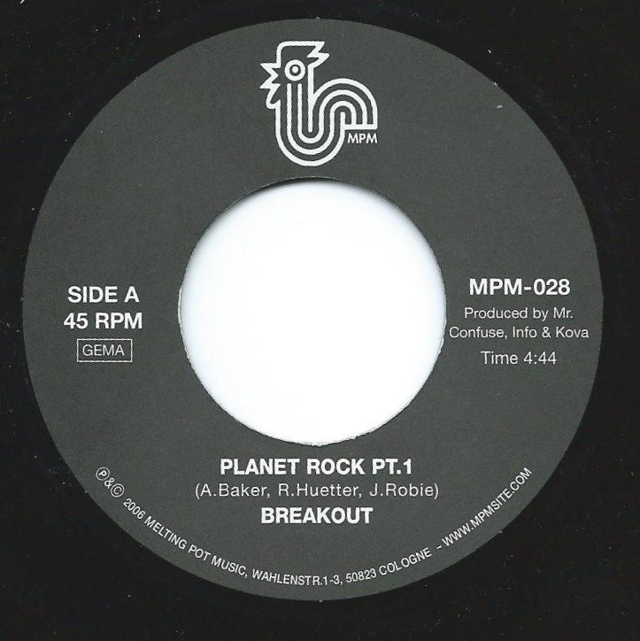 BREAKOUT / PLANET ROCK (7
