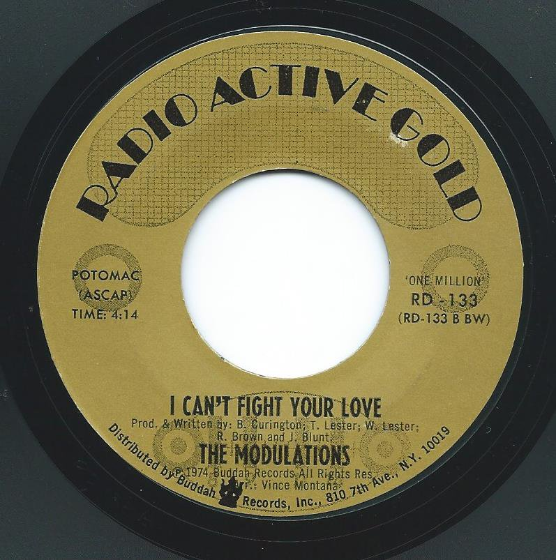 THE MODULATIONS / I CAN'T FIGHT YOUR LOVE / I'M HOPELESSLY IN LOVE (7