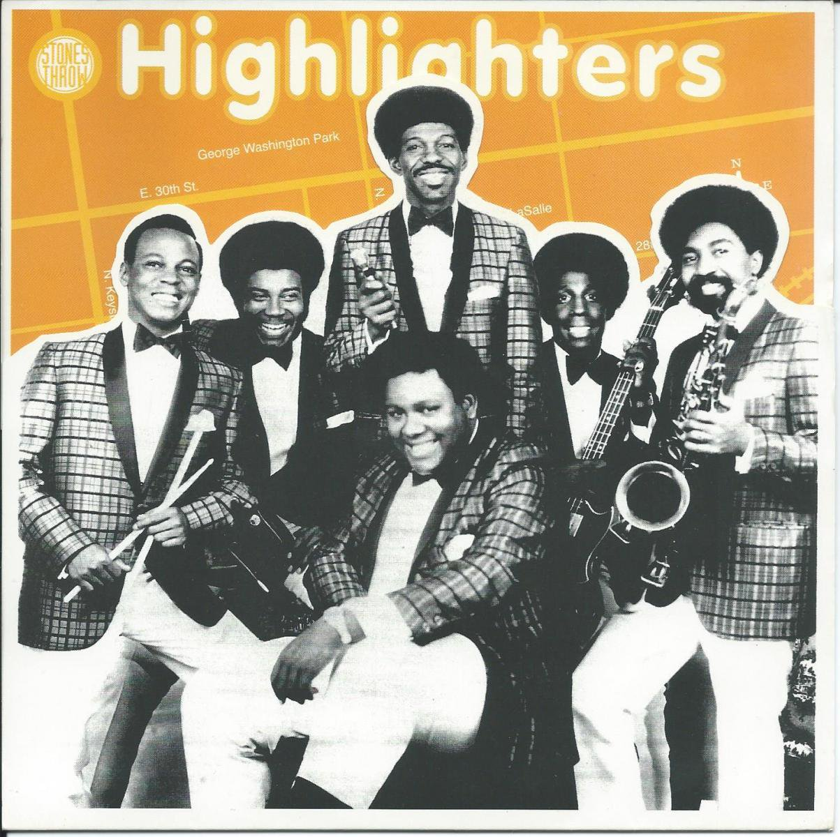 THE HIGHLIGHTERS BAND / POPPIN' POP CORN / THE FUNKY SIXTEEN CORNERS (7