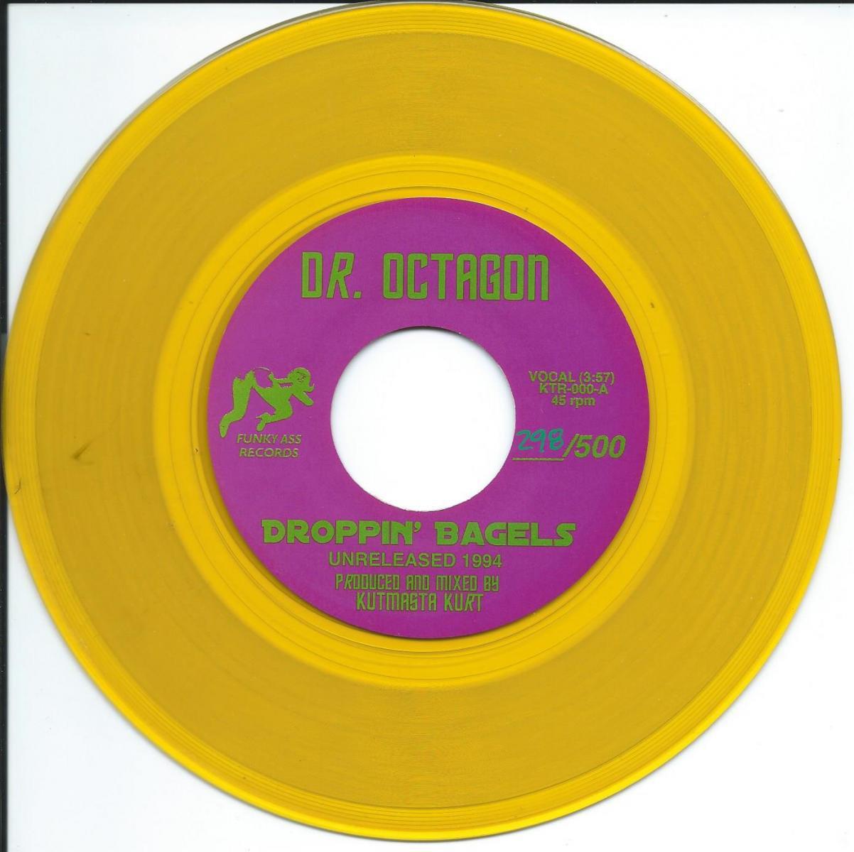 DR. OCTAGON / DROPPIN' BAGELS (7
