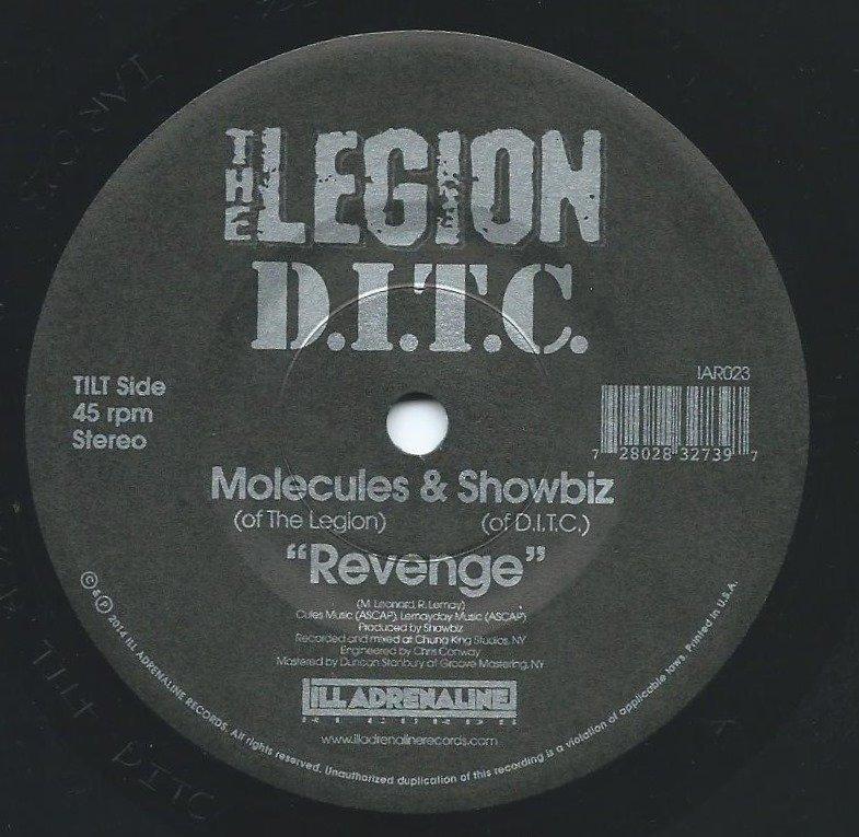 MOLECULES (OF THE LEGION) & SHOWBIZ (OF D.I.T.C.) / REVENGE (7