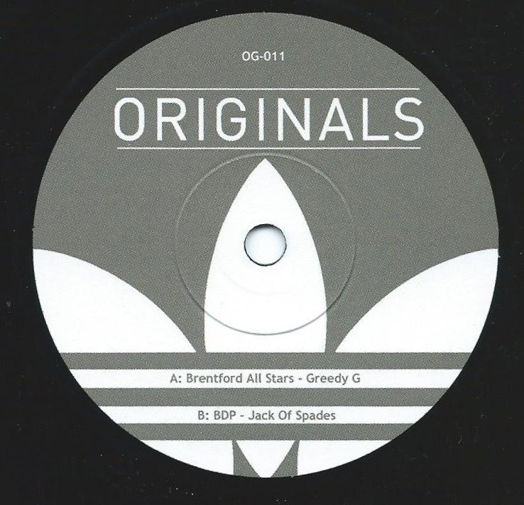 BRENTFORD ALL STARS / BDP (BOOGIE DOWN PRODUCTION) / GREEDY G / JACK OF SPADES (7