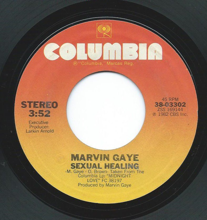MARVIN GAYE / SEXUAL HEALING (7