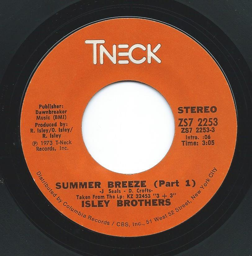 ISLEY BROTHERS / SUMMER BREEZE (7