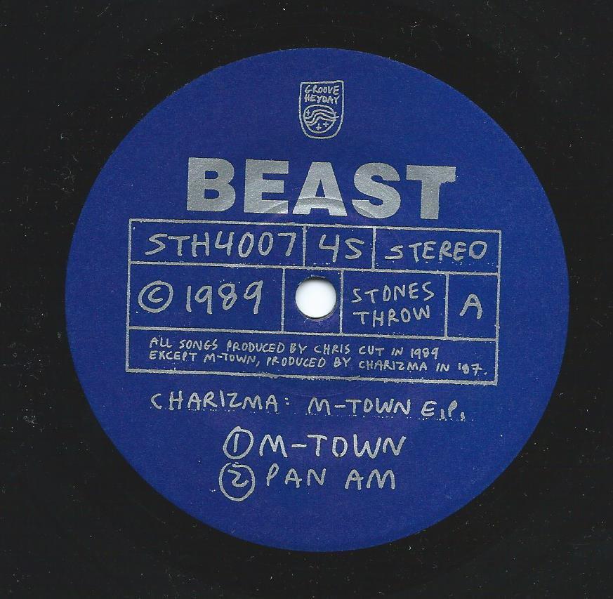 CHARIZMA / M-TOWN E.P. (7