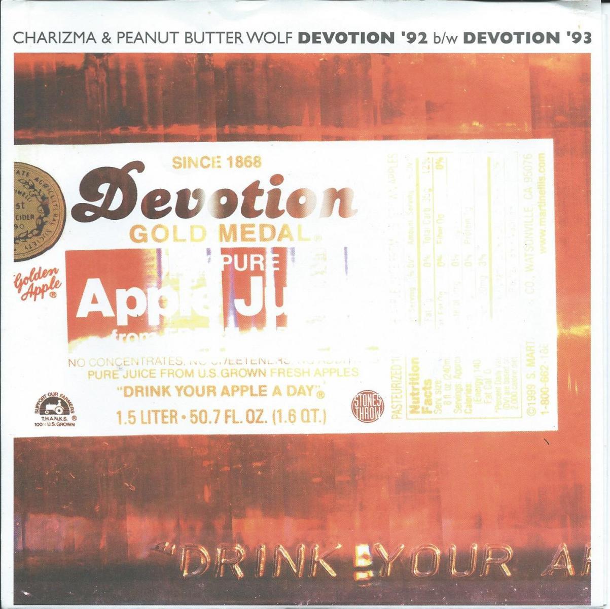 CHARIZMA & PEANUT BUTTER WOLF / DEVOTION '92 / DEVOTION '93 (7