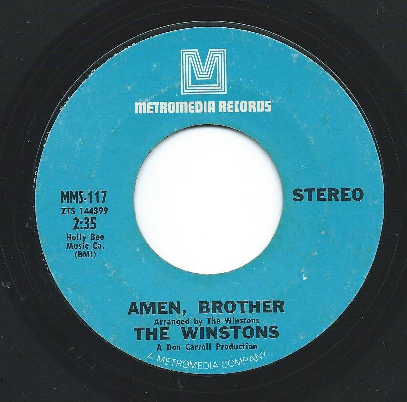 THE WINSTONS / AMEN,BROTHER (7