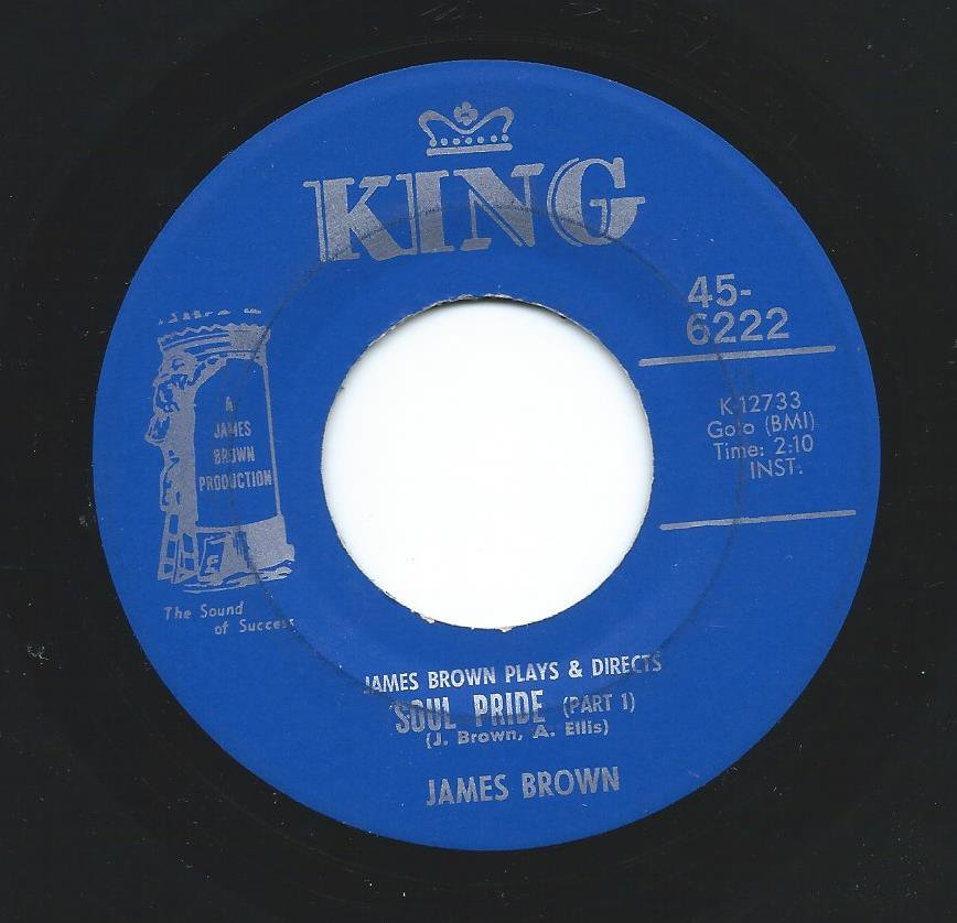 JAMES BROWN ‎/ SOUL PRIDE (7
