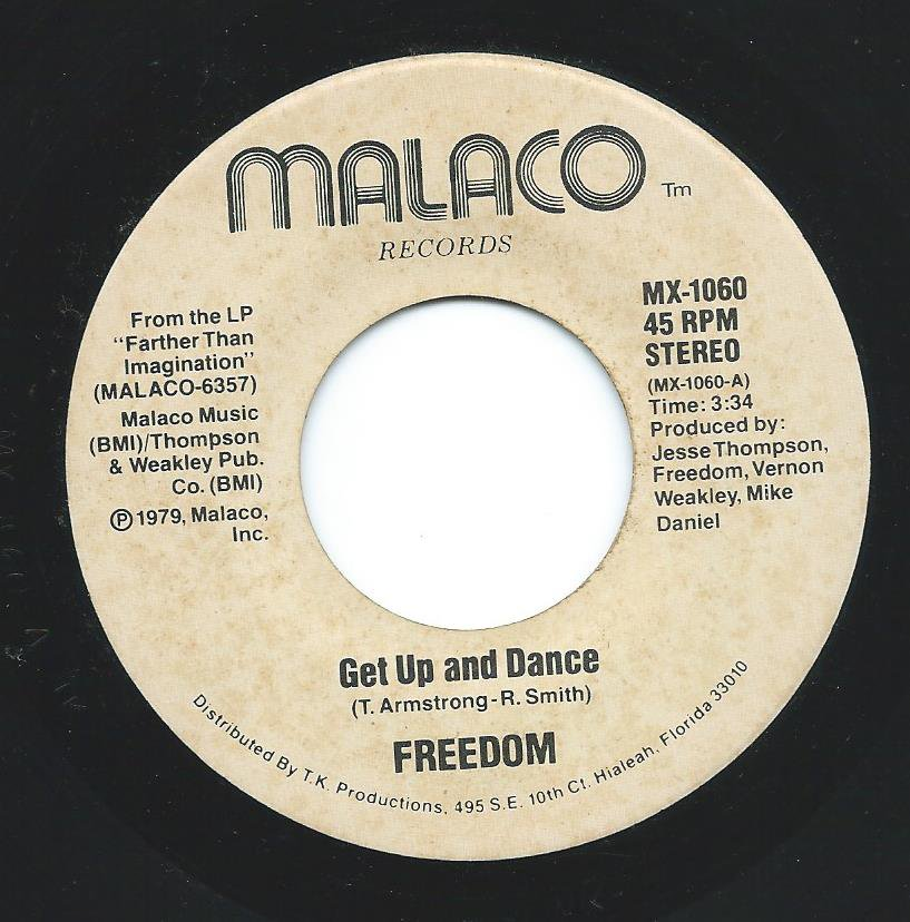 FREEDOM ‎/ GET UP AND DANCE / SUMMER MEMORY (7