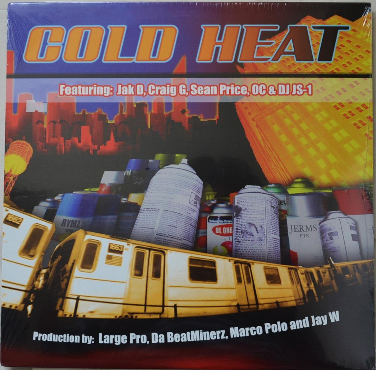 COLD HEAT ‎/ WHY YOU WANNA DO THAT (PROD BY LARGE PRO) / PUT YA SELF IN MY PLACE  (12