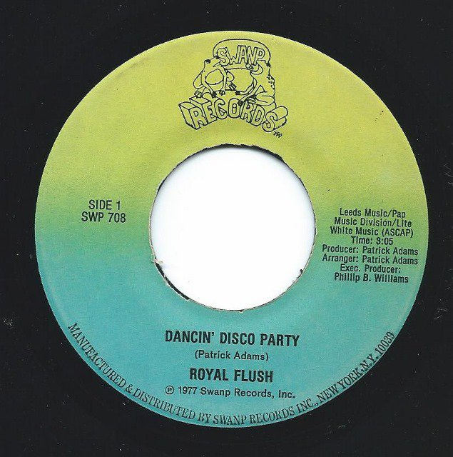 ROYAL FLUSH / DANCIN' DISCO PARTY (7