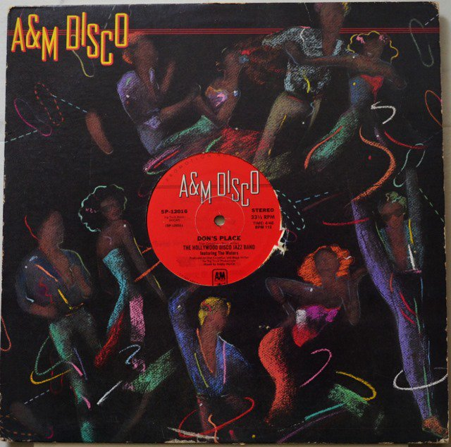 HOLLYWOOD DISCO JAZZ BAND / DON'S PLACE (12