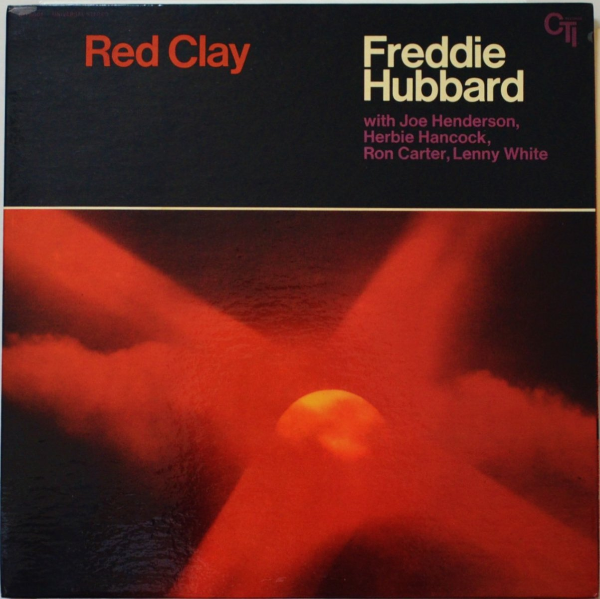 FREDDIE HUBBARD / RED CLAY (LP)