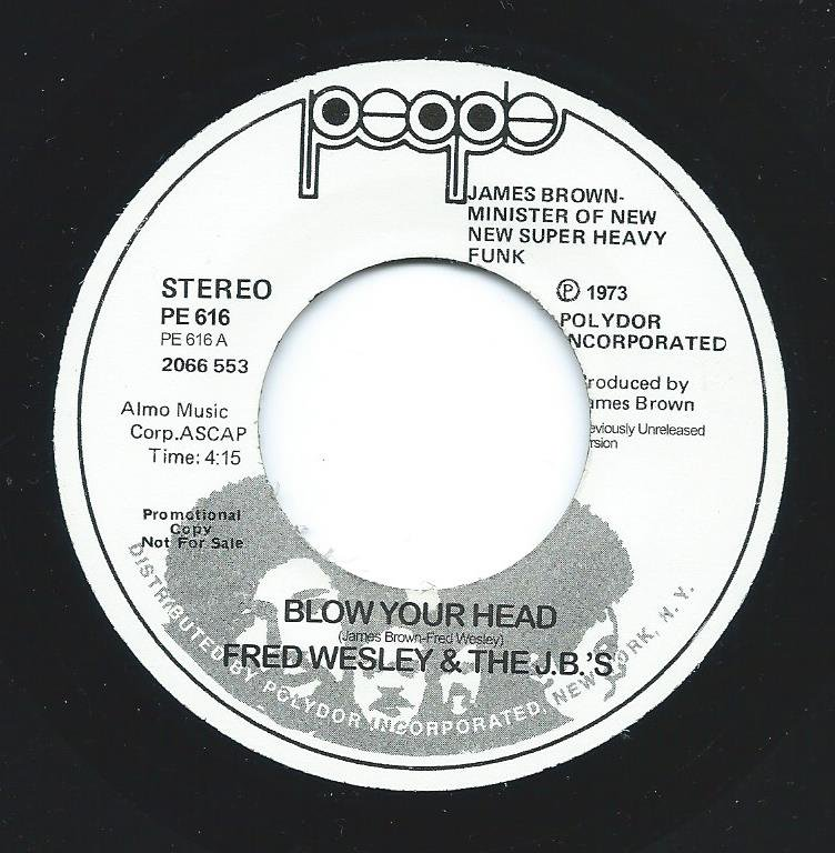 FRED WESLEY & THE JB'S / JAMES BROWN / BLOW YOUR HEAD / MINDPOWER (7