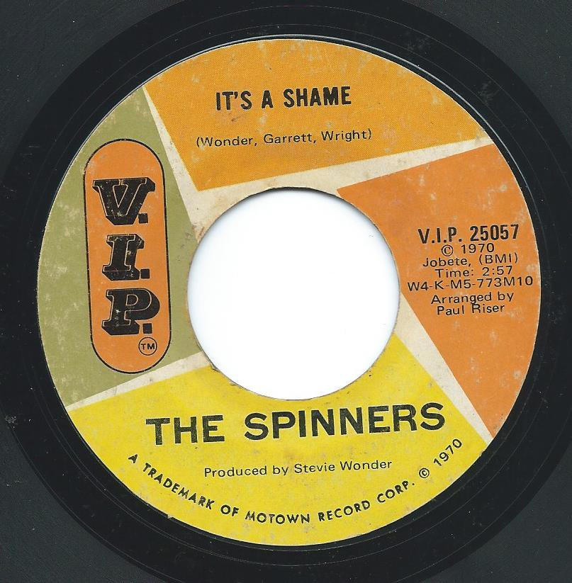THE SPINNERS / IT'S A SHAME (7