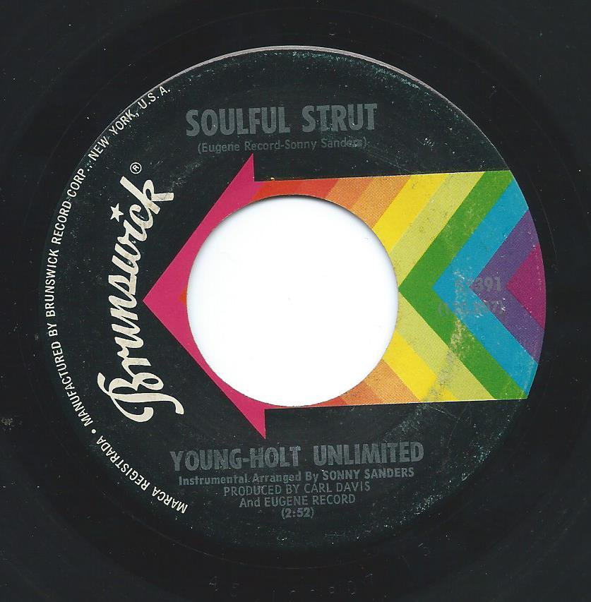 YOUNG-HOLT UNLIMITED / SOULFUL STRUT (7