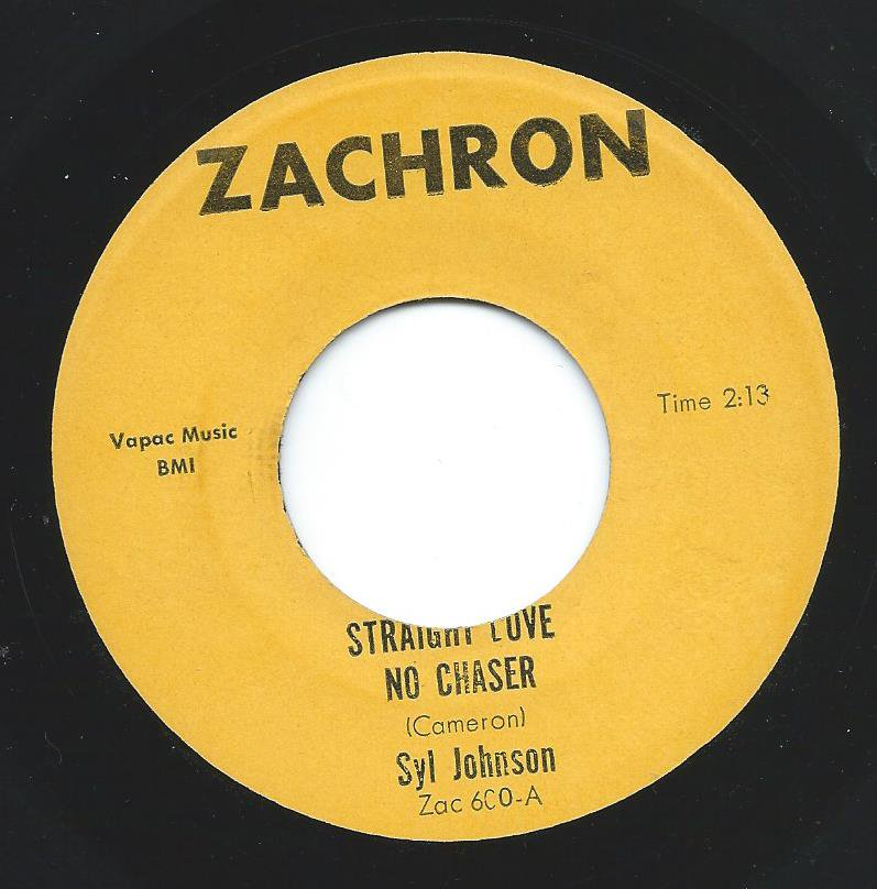 SYL JOHNSON ‎/ STRAIGHT LOVE NO CHASER / SURROUNDED (7