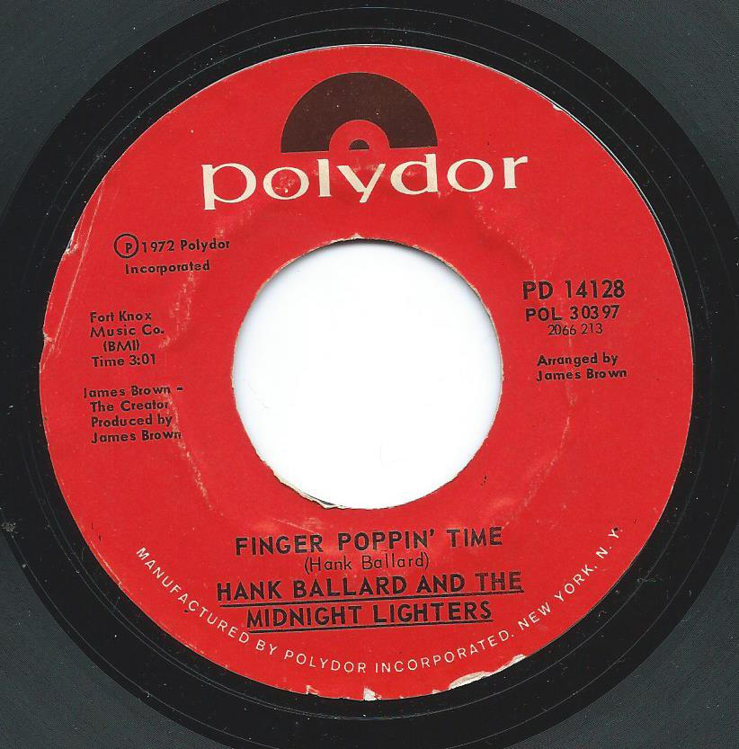 HANK BALLARD AND THE MIDNIGHT LIGHTERS / FROM THE LOVE SIDE / FINGER POPPIN' TIME (7