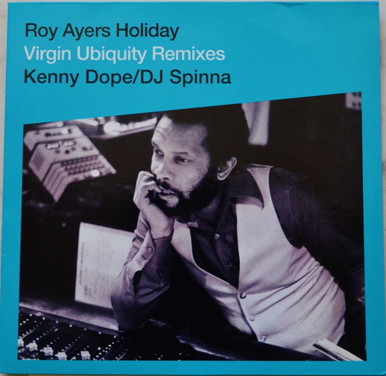 ROY AYERS (KENNY DOPE,DJ SPINNA) / HOLIDAY (VIRGIN UBIQUITY REMIXES) (2×12