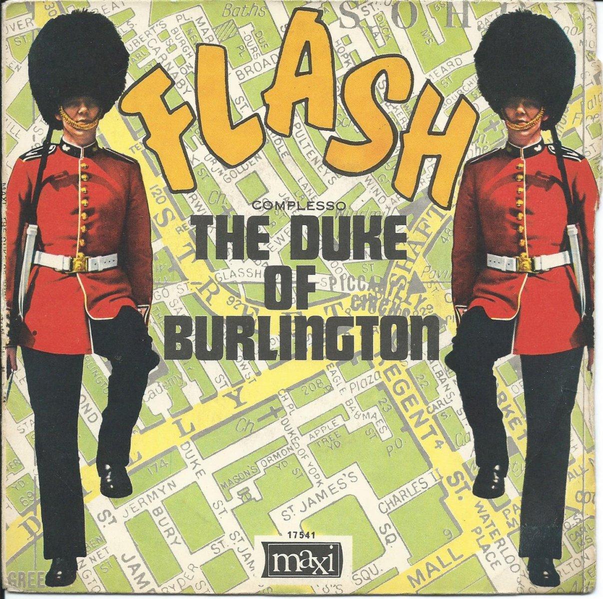 THE DUKE OF BURLINGTON / FLASH / 30 60 90 (7