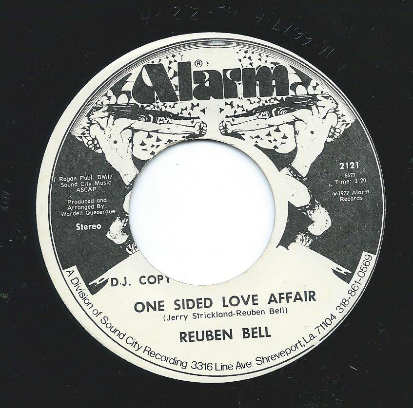REUBEN BELL ‎/ ONE SIDED LOVE AFFAIR / MEET ME HALF WAY (7