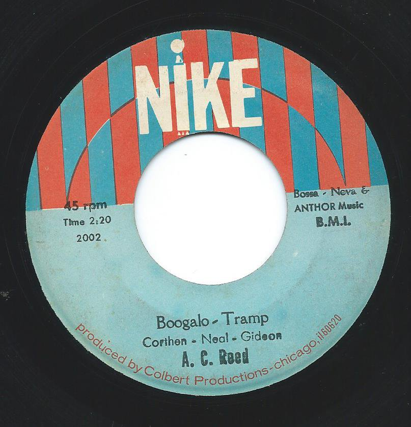A.C. REED / BOOGALO - TRAMP / TALKIN 'BOUT MY FRIENDS (7