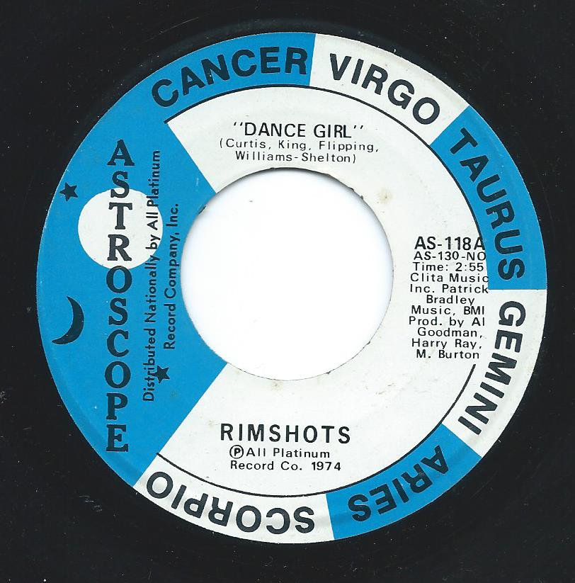 RIMSHOTS ‎/ DANCE GIRL / WHO GOT THE MONSTER (7