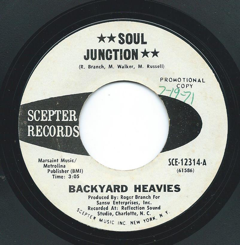 BACKYARD HEAVIES / SOUL JUNCTION / EXPO 83 (7
