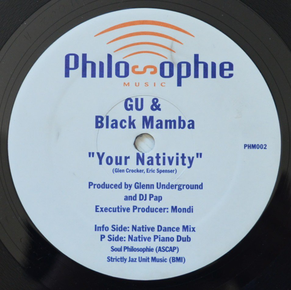 GU & BLACK MAMBA ‎/ YOUR NATIVITY (12