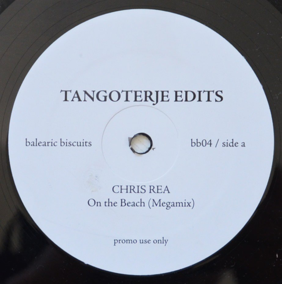 CHRIS REA / ANDREAS VOLLENWEIDER ‎/ ON THE BEACH / BELLADONNA (TANGOTERJE EDITS) (12