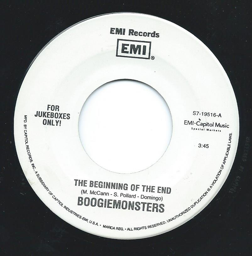 BOOGIEMONSTERS ‎/ THE BEGINNING OF THE END / GOD SOUND (7