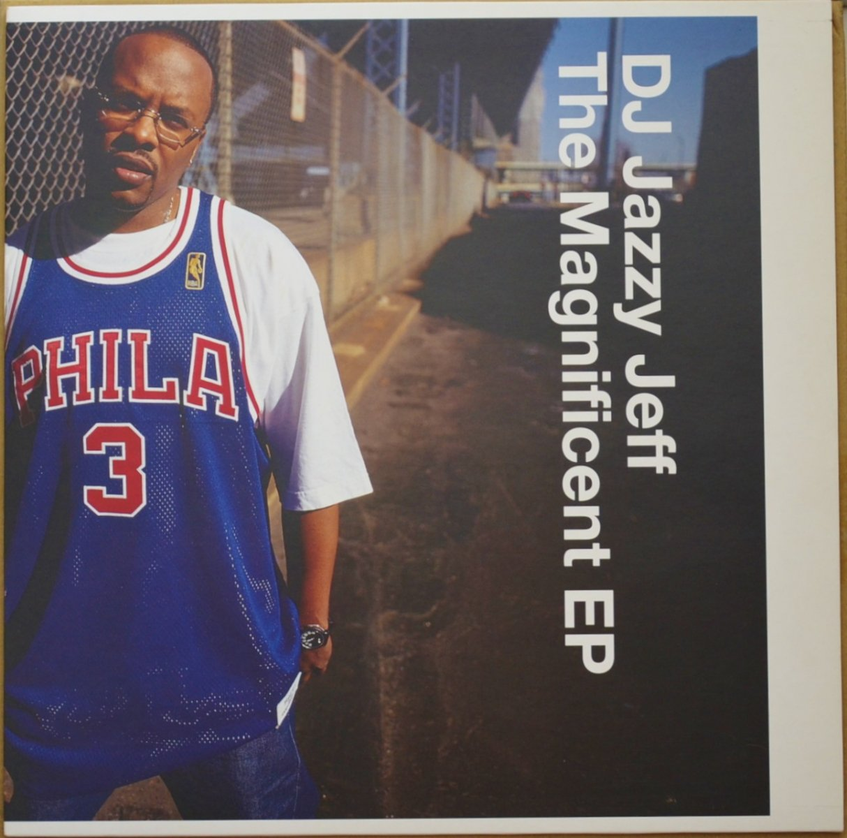 DJ JAZZY JEFF ‎/ FOR DA LOVE OF DA GAME (THE MAGNIFICENT EP) (12