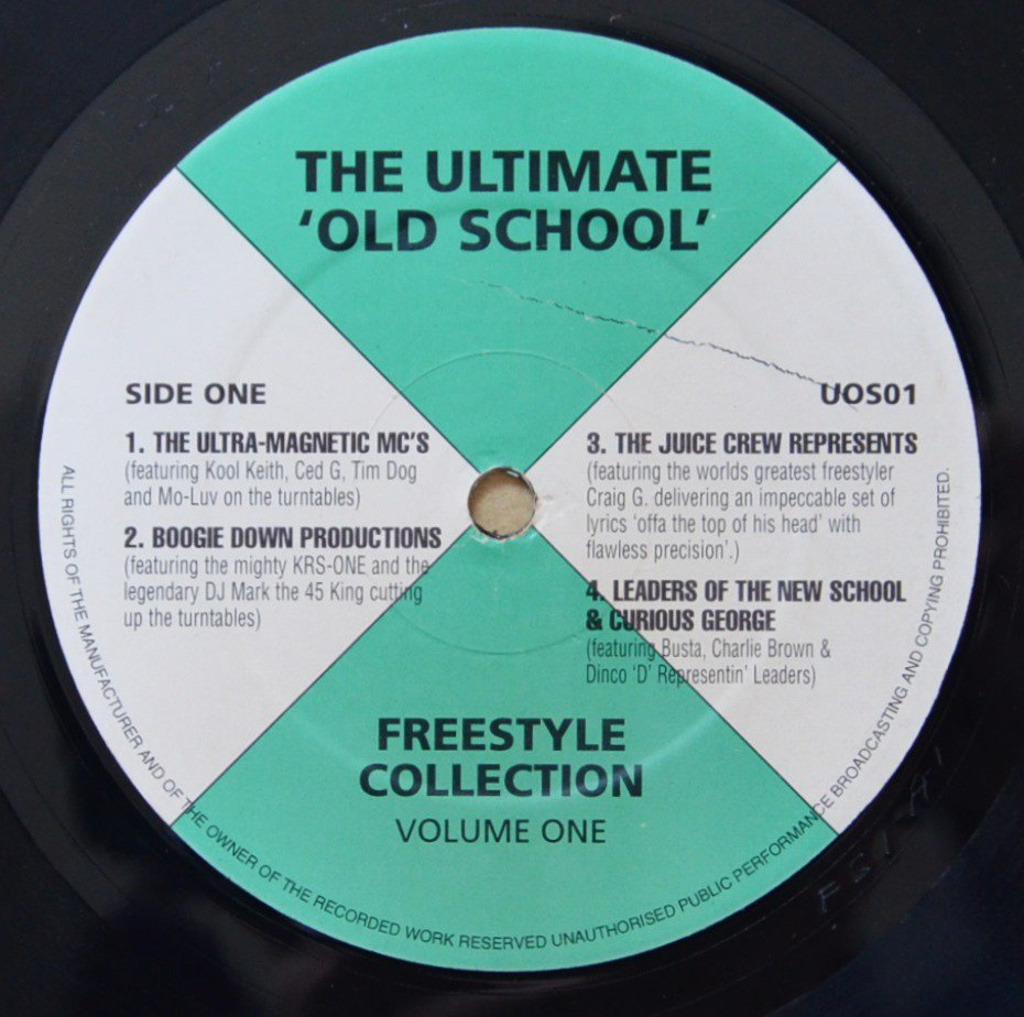 V.A.(ULTRAMAGNETIC MC'S...) / THE ULTIMATE 'OLD SCHOOL' FREESTYLE COLLECTION VOLUME ONE (12