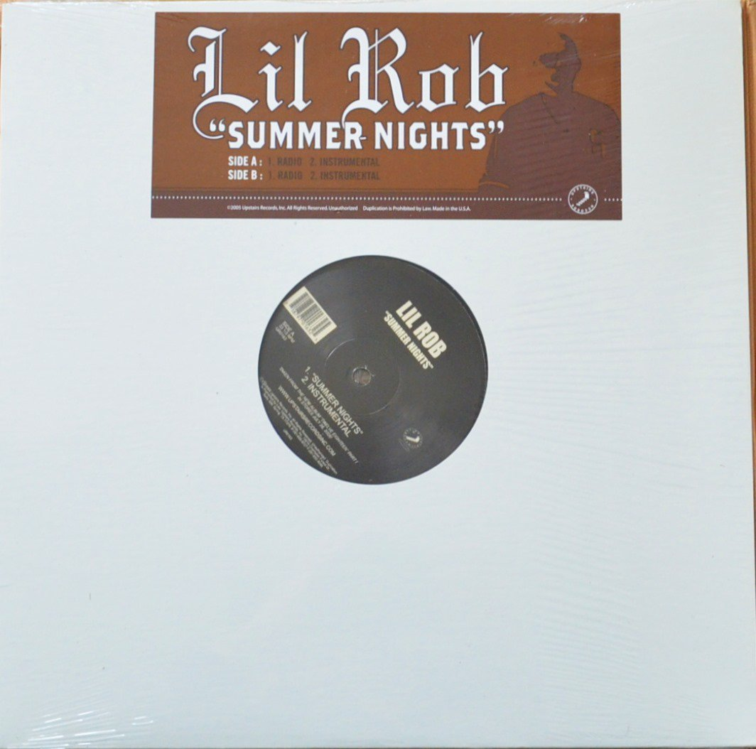 LIL ROB / SUMMER NIGHTS (12