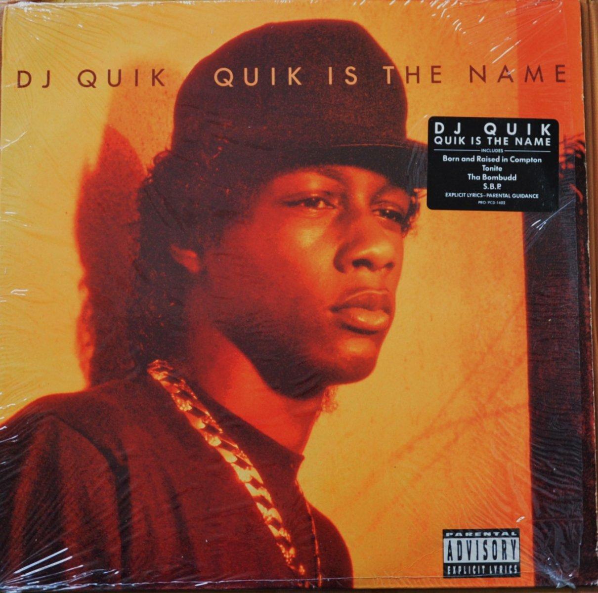 DJ QUIK / QUIK IS THE NAME (1LP)